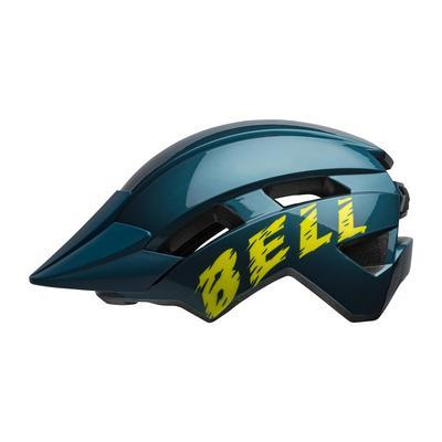 BELL Sidetrack II Youth Blue/Hi-Viz - 1