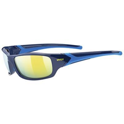 UVEX Brýle Sportstyle 211 Blue/Mirror Yellow S3 (4416)