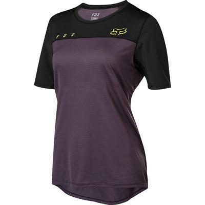 FOX Dámský volný dres Flexair SS Jersey -Dark Purple - S - 1