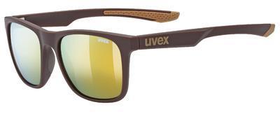UVEX Brýle LGL 42 Brown mat/Mirror Gold S3 (6616)