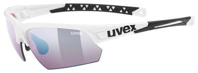 UVEX Brýle Sportstyle 224 CV White/ColorVision Blue S2 (8896)