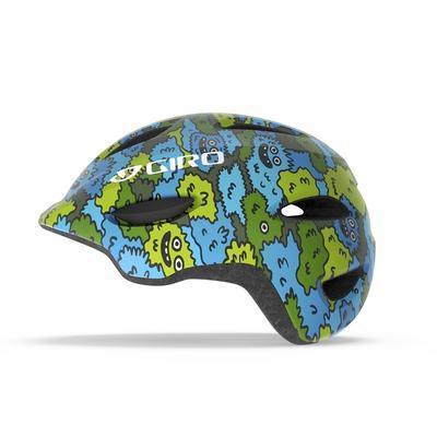 GIRO Scamp Blue/Green Creature Camo XS - 1