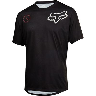 FOX Volný dres Indicator SS Asym černý - 1