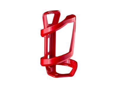 BONTRAGER Košík na láhev pro boční přístup z pravé strany, červený lesklý