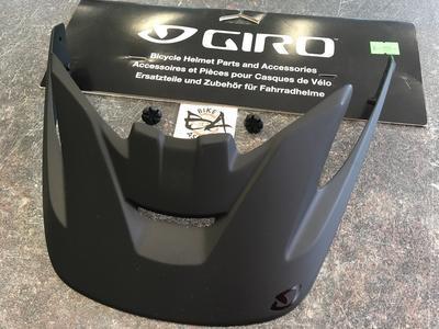 GIRO Náhradní štítek pro přilbu Montaro M - Mat black (Visor)