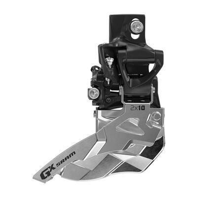 SRAM Přesmykač GX 2 x 10 přímá montáž, spodní tah, černá