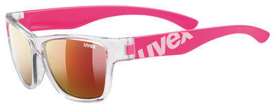 UVEX Brýle Sportstyle 508 Clear pink/Mirror red S3 (9316)