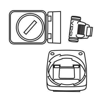VDO bezdrát.(analogová) sada pro modely M1.1WL a M2.1WL (+magnet)