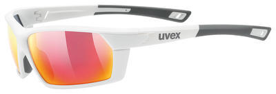 UVEX Brýle Sportstyle 225 White mat/Mirror Red S3 (8816)