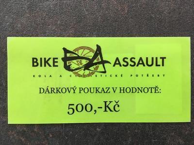 DÁRKOVÝ POUKAZ - 500,-Kč