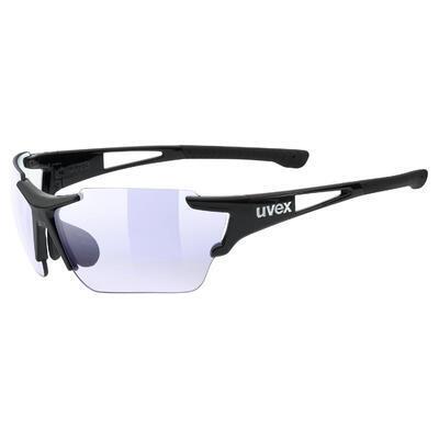 UVEX Brýle Sportstyle 803 CV Vario Black mat/ColorVision Variomatic Blue S1-3 (2203)