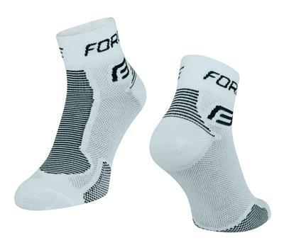 FORCE - Ponožky FORCE 1 bílo-černé