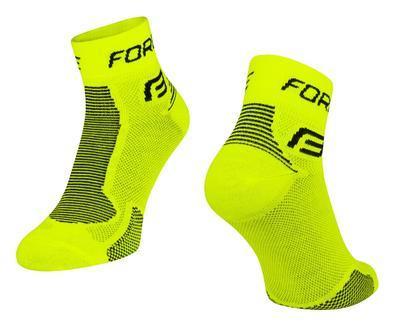 FORCE - Ponožky FORCE 1 fluo-černé