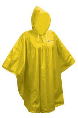 FORCE - poncho dětské nepromokavé, žluté XS - M