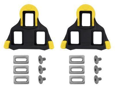 SHIMANO - Zarážky-kufry SPD SL SM-SH11 s vůlí, žluto-černé