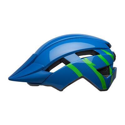 BELL Sidetrack II Child Blue/Green - 1