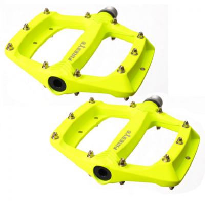 FIREEYE - Pedály s vyměnitelnými piny ROAST - fluo žluté - 1