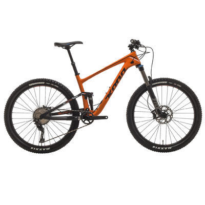 KONA Hei Hei Trail (Carbon) 2017 - Matt Orange - M - 1