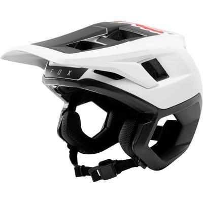 FOX DropFrame Helmet White/Black - M - 1