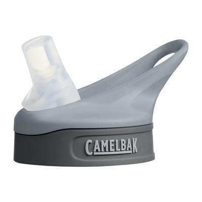 CAMELBAK eddy Dark Grey Cap, bite valve, straw