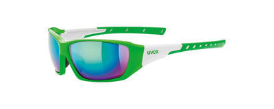 UVEX Brýle Sportstyle 219 Green-White/Mirror Green S3 (7816)