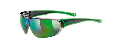 UVEX Brýle Sportstyle 204 Green/Mirror Green S3 (7716)