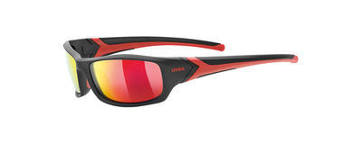 UVEX Brýle Sportstyle 211 Pola Black-Red/Mirror Red S3 (2230)