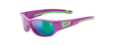 UVEX Brýle Sportstyle 506 Pink Green/Mirror Green S3 (3716)