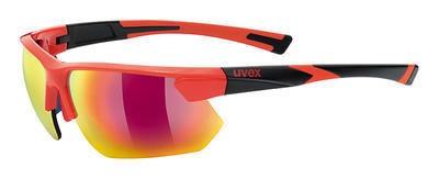 UVEX Brýle Sportstyle 221 Red-Black/Mirror Red S3 (3216)