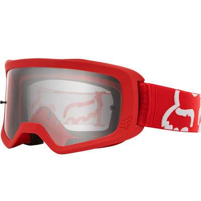 FOX Brýle Main II Race Goggle OS Red - 1