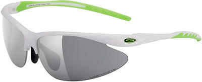 NW Team Sunglasses - TU White/Green Lime