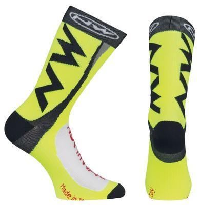 NW Ponožky Extreme Tech Plus Socks Yellow Fluo - L