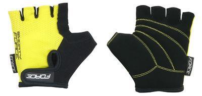 FORCE - Rukavice dětské SHORTY žluté