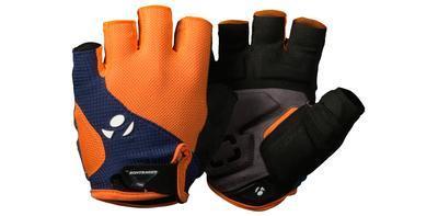 BONTRAGER Rukavice Race Gel oranžovo-modrá - XL