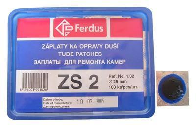 FERDUS - záplata ZS2 průměr 25mm