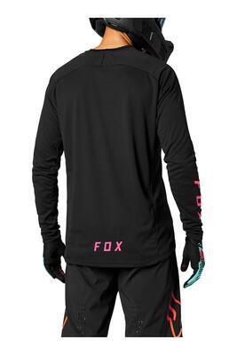 FOX Volný dres Defend LS Jersey - Black - L, L - 2