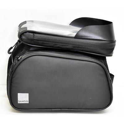 SAHOO - Brašna za představec 2x boční kapsa + 1x horní na mobil - 2