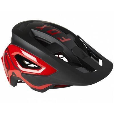 FOX Speedframe PRO Helmet Ce MIPS - Black/Red - M - 2