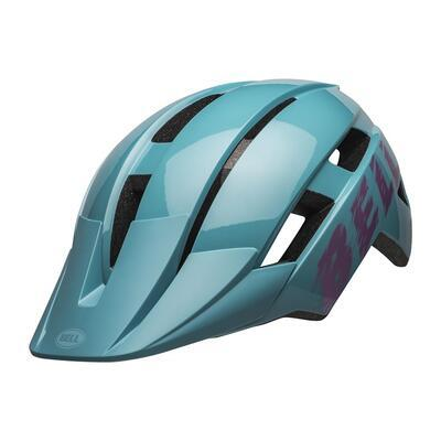 BELL Sidetrack II Youth Light Blue/Pink - 2