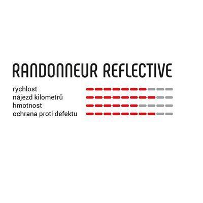 VITTORIA plášť Randonneur 42-622 rigid D refl - 2