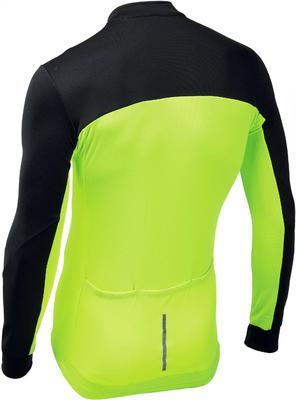 NW Force 2 Jersey L/S Black/Yellow Fluo - 2
