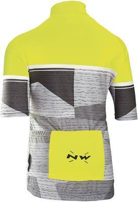 NW Origin Junior Jersey YellowFluo/Grey - 2