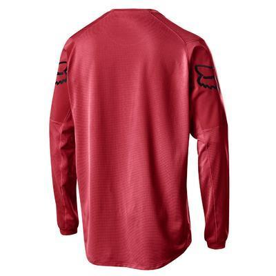 FOX Volný dres Flexair LS Fine Line Jersey - Cardinal - L - 2