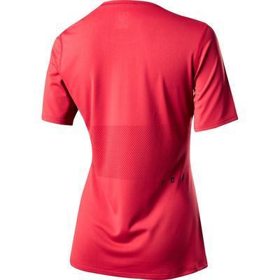 FOX Dámský volný dres Ranger SS Foxhead Jersey - Rio Red - 2
