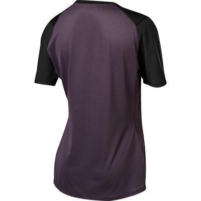 FOX Dámský volný dres Flexair SS Jersey -Dark Purple - S - 2