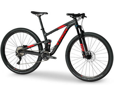 TREK Top Fuel 8 2018 - Trek Black - 17,5 - 2