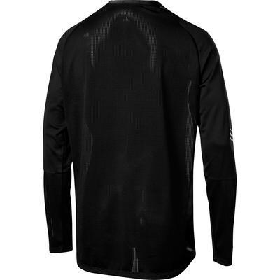 FOX Volný dres Defend LS Foxhead Jersey - Black - M - 2