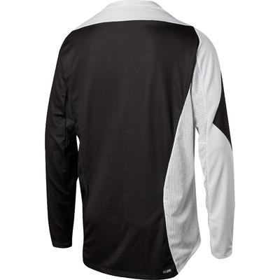 FOX Volný dres Demo LS Preme bílý/černý - 2