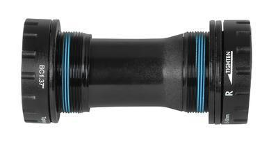 FORCE - Kliky TEN2.3+ Al 36/22z s osou 175mm, černé - 2