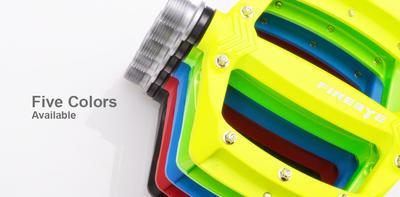 FIREEYE - Pedály s vyměnitelnými piny ROAST - fluo žluté - 2
